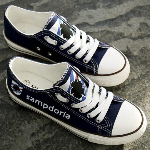 Sampdoria Team Canvas Shoes Sport