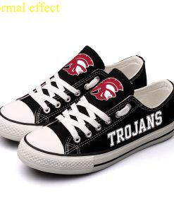 USCTrojans Limited Southern California Trojans Luminous Low Top Canvas Sneakers