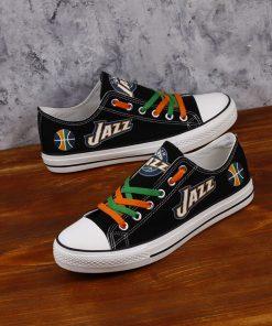 Utah Jazz Fans Low Top Canvas Sneakers