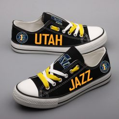Utah Jazz Fans Low Top Canvas Shoes Sport