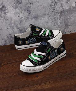 Utah Jazz Low Top Canvas Sneakers
