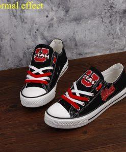 Utah Utes Limited Luminous Low Top Canvas Sneakers