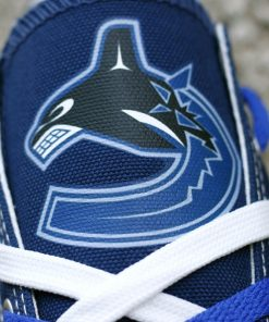 Vancouver Canucks Limited Low Top Canvas Shoes Sport