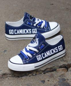 Vancouver Canucks Low Top Canvas Shoes Sport
