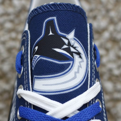 Vancouver Canucks Low Top Canvas Shoes Sport