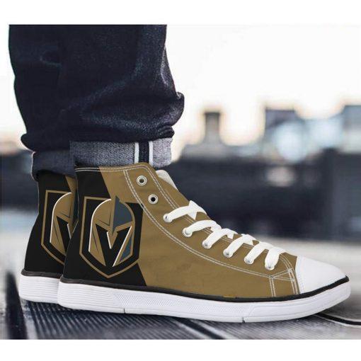 Vegas Golden Knights 3D Casual Canvas Shoes Sport