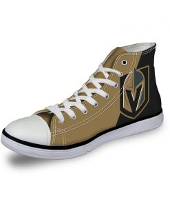 Vegas Golden Knights 3D Casual Canvas Shoes Sport