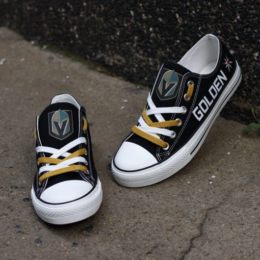 Vegas Golden Knights Limited Low Top Canvas Shoes Sport