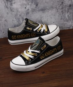 Vegas Golden Knights Fans Low Top Canvas Shoes Sport
