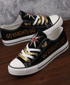 Vegas Golden Knights Limited Fans Low Top Canvas Sneakers