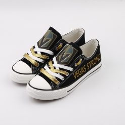 Vegas Golden Knights Limited Fans Low Top Canvas Shoes Sport