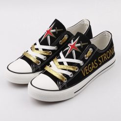 Vegas Golden Knights Low Top CanvasSneakers