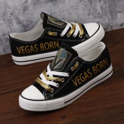 Golden Knights Limited Low Top Canvas Sneakers