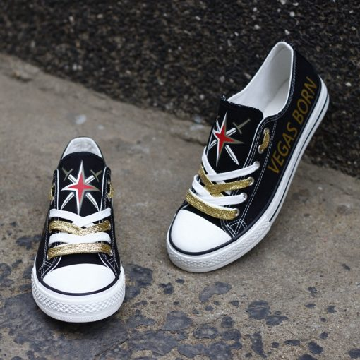 Vegas Golden Knights Limited Low Top Canvas Sneakers