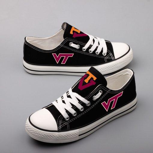 Virginia Tech Hokies Limited Low Top Canvas Sneakers