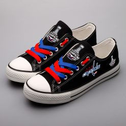 Washington Capitals Limited Low Top Canvas Shoes Sport