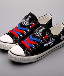 Washington Capitals Limited Low Top Canvas Shoes Sport