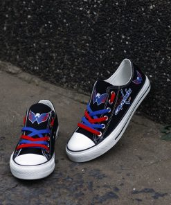 Washington Capitals Limited Low Top Canvas Sneakers