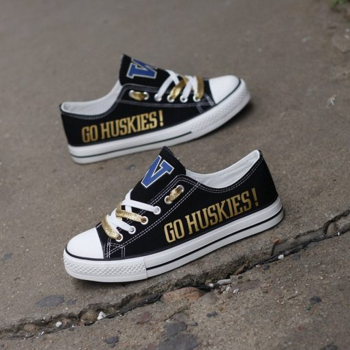 Washington Huskies Limited Low Top Canvas Sneakers