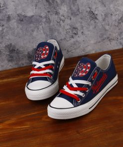 Washington Nationals Limited Low Top Canvas Sneakers