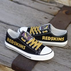 Washington Redskins Limited Low Top Canvas Sneakers