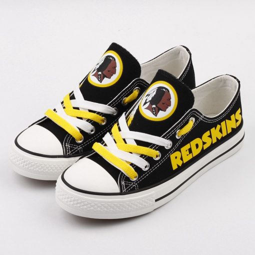 Washington Redskins Limited Print Low Top Canvas Shoes Sport