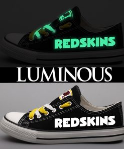 Washington Redskins Limited Luminous Low Top Canvas Sneakers