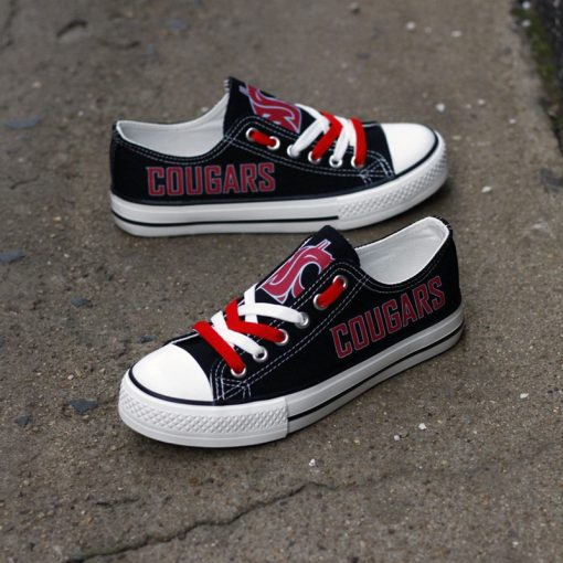 WashingtonStateCougars Limited Low Top Canvas Sneakers