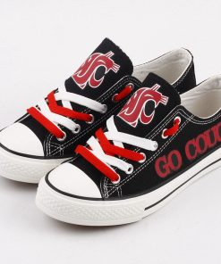 WashingtonStateCougars Limited Low Top Canvas Shoes Sport