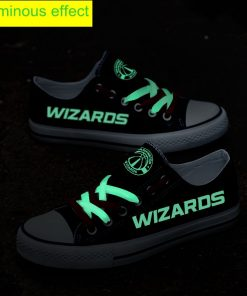 Washington Wizards Limited Luminous Low Top Canvas Sneakers