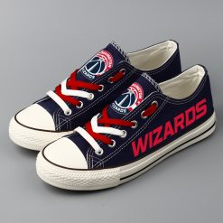 Washington Wizards Low Top Canvas Shoes Sport