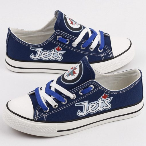 Winnipeg Jets Limited Low Top Canvas Sneakers