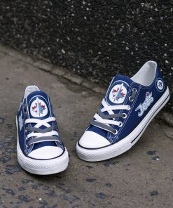 Winnipeg Jets Limited Low Top Canvas Shoes Sport