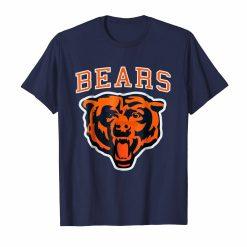 brand men shirt Chicago Bear Football T Shirt Simple Bears Great Gift Idea