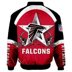 Atlanta Falcons Fans Air Force One Flight Jacket