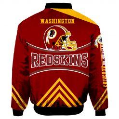 Washington Redskins Bomber Jacket Men Women