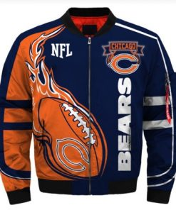 Chicago Bears Air Force One Flight Jacket