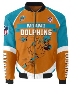 Miami Dolphins Bomber Unisex Coat