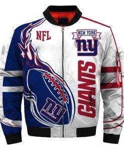 New York Giants Bomber Jacket Unisex