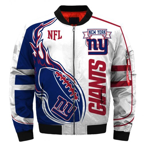 New York Giants Bomber Jacket Unisex