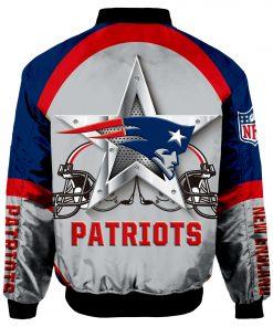 New England Patriots Bomber Unisex Coat