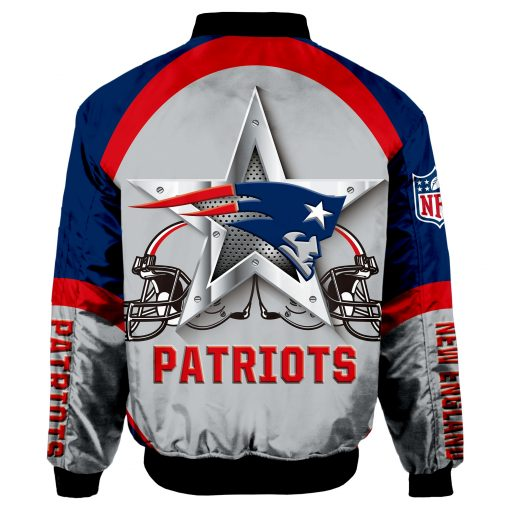 New England Patriots Bomber Unisex Coat