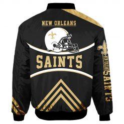 New Orleans Saints Bomber Jacket Unisex