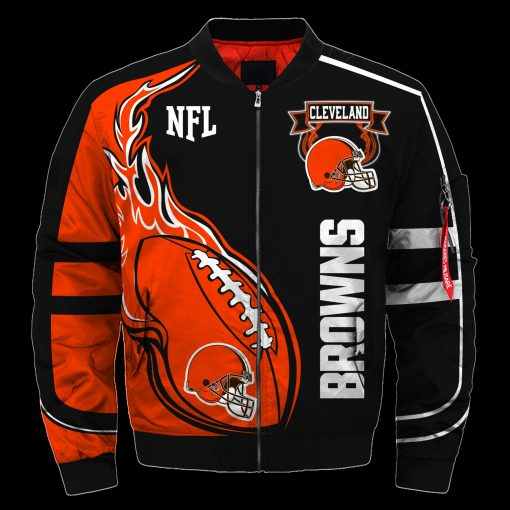 Cleveland Browns Air Force One Flight Jacket