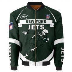 New York Jets Bomber Jacket Men Women