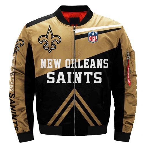 New Orleans Saints Bomber Jacket Men Women