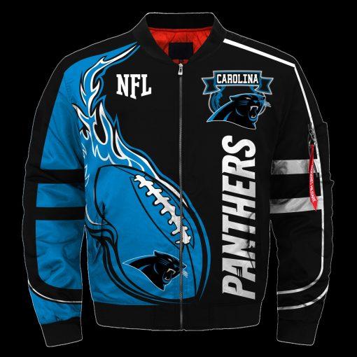 Carolina Panthers Air Force One Flight Jacket