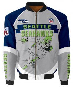 Seattle Seahawks Bomber Jacket Men Women