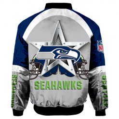Seattle Seahawks Bomber Jacket Men Women