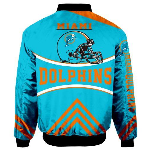 Miami Dolphins Bomber Jacket Unisex